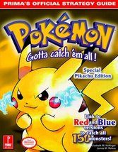 Pokemon Yellow (Prima's Official Strategy Guide) [Oct 13, 1999] Hollinge... - $54.67