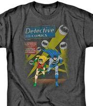 Batman and Robin T-shirt DC Comics retro superhero graphic tee BM1845 image 3