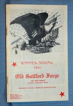 1970 Old Guilford Forge Winter Spring Mail Order Flyer Catalog 24 Pg Gui... - $10.40