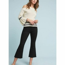 New Anthropologie Leandre Open-Shoulder Top $88 X-SMALL  Ivory  - $43.56