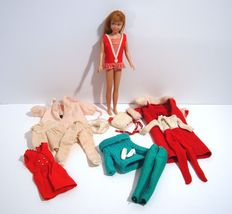 Barbie 1963 Skipper Doll Mattel Inc With Clothes Dreamtime Skating Hat Plus - $119.95