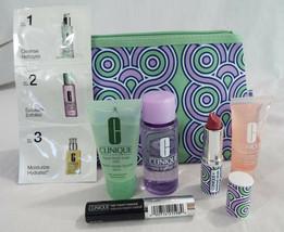 Clinique 7 Piece Set Jonathan Adler Plum Pop Lip Mascara Soap Remover Surge - $21.14
