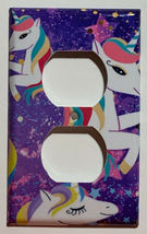 Siwa Unicorn Light Switch Toggle GFI Outlet wall Cover Plate Home Decor image 14