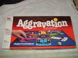 VINTAGE AGGRAVATION MARBLE BOARD GAME - $17.99
