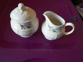 Wedgwood Londonderry cream and sugar 1 available - $16.04
