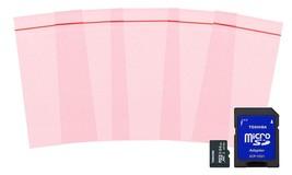"100 Pack Pink Poly Anti-Static Zip Lock Bags 3"" x 5"" - $18.45"