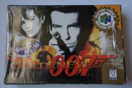 Goldeneye 007 WITH BOX / Nintendo N64 AUTHENTIC Video Game Cart Cartridge - $34.99