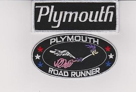 PLYMOUTH ROADRUNNER SEW/IRON ON PATCH EMBLEM BADGE EMBROIDERED CAR MOPAR... - $10.99