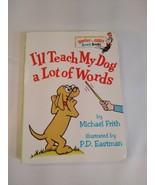 Dr. Suess~ I'll Teach My Dog' A Lot Of Words~ Mini Board Book - $5.93