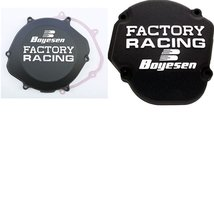 Boyesen Clutch & Ignition Cover Black CR250R CR250 CR 250 02-07 CC-02AB SC-02AB - $105.95