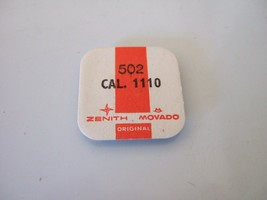 NEW SEALED MOVADO ZENITH 502 CAL. 1110 WINDING STEM WATCH MOVEMENT PART - $8.99