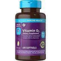 Member's Mark Vitamin D-3 2000 IU Dietary Supplement (400 ct.) - Pack of 2 - $31.00