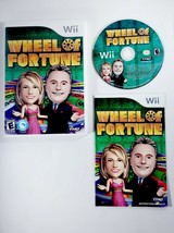 Wheel of Fortune (Nintendo Wii, 2010) TV Game Show - Complete in Box wit... - $13.25