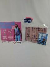 Atlanta Dream Pink fan pack brandanas pocket schedule rubber bracelets s... - $11.29