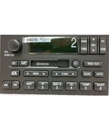 Quest Villager 99-02 OEM cassette radio w/ RDS & CDC. Remanufactured stereo - $50.81