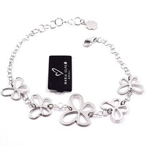 925 SILVER BRACELET, FAMILY BUTTERFLIES, BY MARY JANE IELPO, MADE IN ITALY image 1
