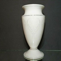 "1 LENOX OPAL INNOCENCE Wedding Collection Stunning 9"" Vase-Signed New Wi... - $46.54"