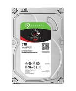 Seagate IronWolf ST3000VN007 3 TB Hard Drive - 3.5 Internal - SATA (SATA... - $126.07