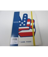 "USA Peace Sign  Canvas Notebook Journal by Junk Food 8"" L x 5.5"" W 160 pgs - $9.99"