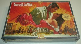 """NEW Vintage 800pc Puzzle, Gone With The Wind, 23.5 x 15.75"""", Schmid 98014.9 - $29.95"""