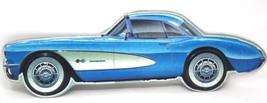 1957 Corvette Vintage Style Embossed Metal Wall Plaque - $34.99