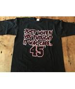 JORDAN COMEBACK T SHIRT He's Back #45 Bulls Vintage 90's Starter Large NEW! - $38.94