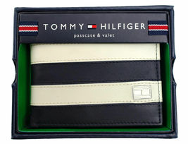 Tommy Hilfiger Men's Leather Credit Card ID Wallet Passcase Billfold 31TL22X040 image 11