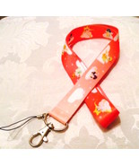 Pretty Sailor Moon Anime Pink Lanyard Strap One Piece Cell Phone Key Cha... - $6.00