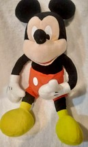 "Disney Mickey Mouse 18"" Plush Doll - Stuffed Toy Licensed image 1"