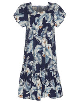 Kekoa Short MuuMuu Dress Back Zipper/NWT/Made in Hawaii - $64.30+
