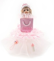"""It's a Girl"" Baby Shower Cake Top 7"" tall 6"" wide - $29.65"