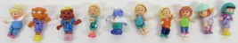 Polly Pocket Vintage 10 Dolls for original playsets Bluebird Toys - $70.00