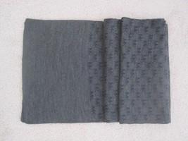 NWOT Michael Kors Men's Repeat Logo Jacquard Scarf Muffler 33410C, Gray - £21.91 GBP
