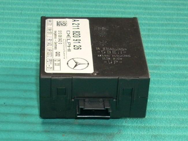 2002 MERCEDES S55 THEFT LOCKING ECM A2118209126
