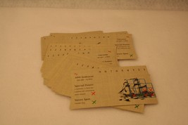 Battleship Command Pirates of the Caribbean Game Replacement Ship Cards 2006 - $9.95