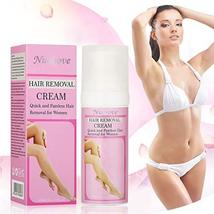 Hair Removal Cream for Women, Hair Depilatory Cream, Face Hair Removal Cream, Na image 2