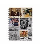 Laurel & Hardy Coloured Montage A5 Notebook - $12.49