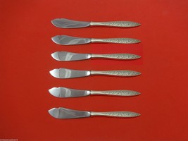 "Spanish Lace by Wallace Sterling Silver Trout Knife Set 6pc. HHWS  Custom 7 1/2"" - $366.80"