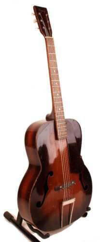 Primary image for Vintage 1940's Kay Arch Top Acoustic Guitar 2-Tone Sunburst with NOC,~Think Jack