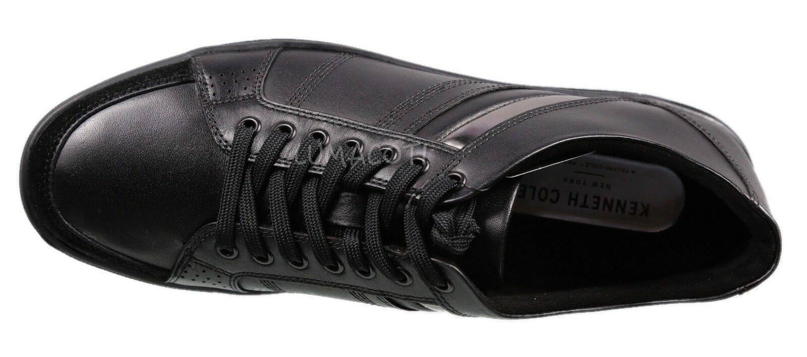 Mens Kenneth Cole Black Initial Sneaker [KMF8024LE 001]