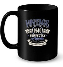 Vintage Made In 1940 Ceramic Mug 78th Birthday Gift - $13.99+