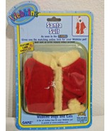 NEW GANZ WEBKINS Dog & Cat 3pc Red SANTA SUIT Code Enclosed WE000292 Santa Claus - $4.99