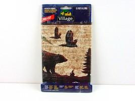 "Village Decorative Border Nature/Bear 15' x 6.75""  Lot Of 2 NOS - $27.71"