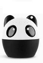 Panda 3W Bluetooth Speaker Animal Desktop Player Stereo Loudspeaker 2 x ... - $12.97