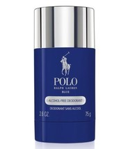 Polo BLUE Perfume Ralph Lauren 2.6 Oz 75 G Alcohol Free Deodorant Stick ... - $38.79