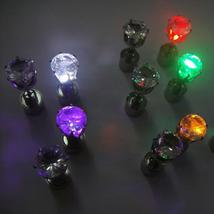 Dance Party Light Up LED Bling Ear Studs Earring - $15.99