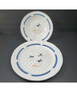 """Vintage Home Style Country Goose Stoneware China  12""""×1.5"""" Plate & 9""""× 2... - $29.97"""