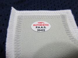 PAU GASOL / AUTOGRAPHED MEMPHIS GRIZZLIES BLUE CUSTOM BASKETBALL JERSEY / COA image 5