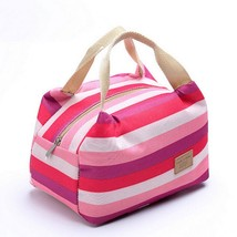 Thermal Bag Retro Drawstring Print Style Multifunction Picnic Summer Coo... - $9.49
