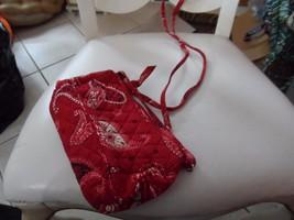 Vera Bradley small Amy handbag with long crossbody strap In Mesa Red - ₨844.80 INR